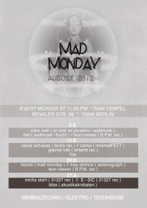 Mad Monday August